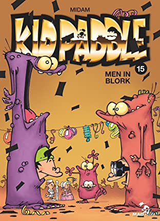 Kid Paddle Tome 15: Men In Blork