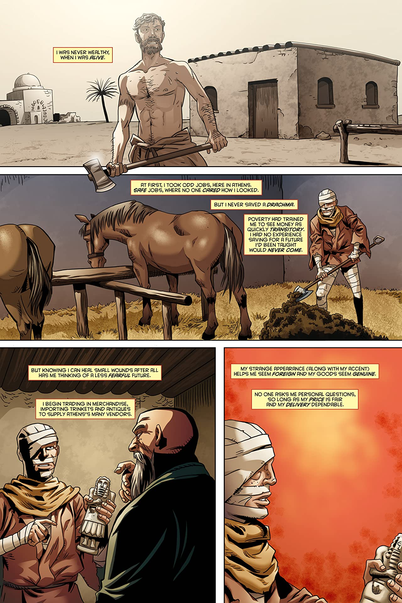 Lazarus, the Forever Man #1