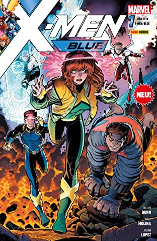 X-Men: Blue Vol. 1: Reise ins Blaue