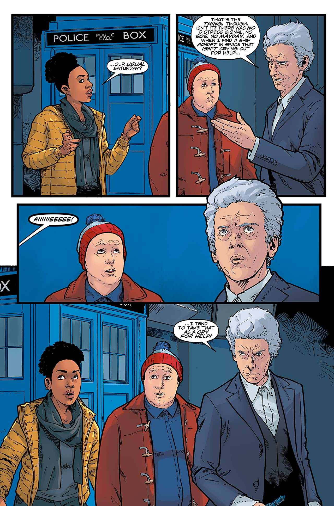 Doctor Who: The Twelfth Doctor - Time Trials Vol. 3: Confusion of Angels