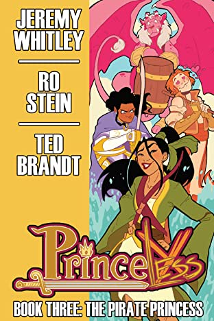 Princeless: Book 3 - The Pirate Princess Deluxe Tome 3