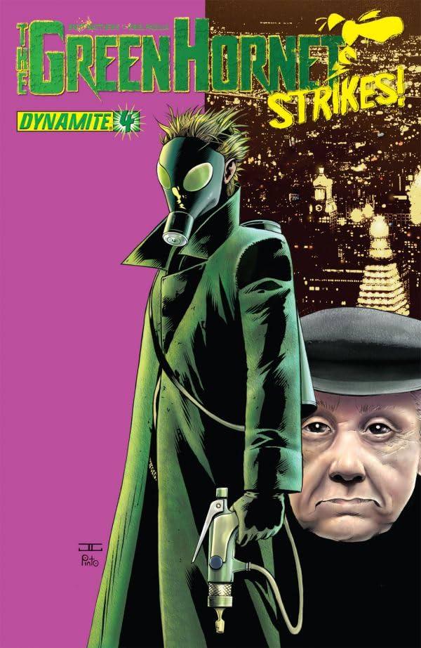 The Green Hornet Strikes! #4