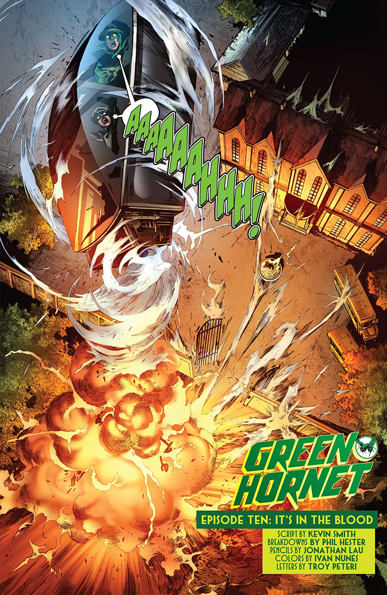 Kevin Smith's Green Hornet #10
