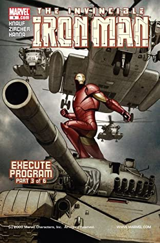 Iron Man (2004-2007) No.9