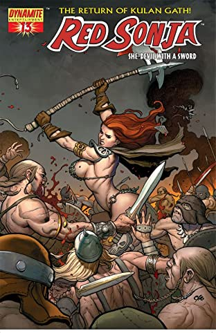 Red Sonja: She-Devil With a Sword No.13