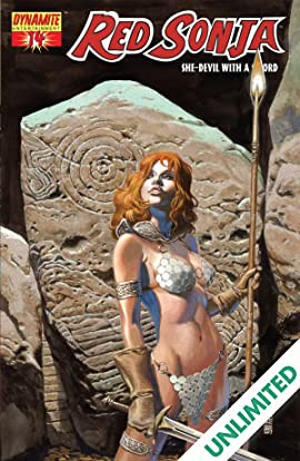 Red Sonja: She-Devil With a Sword #14