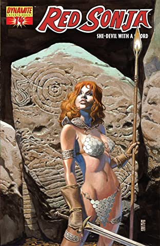 Red Sonja: She-Devil With a Sword No.14