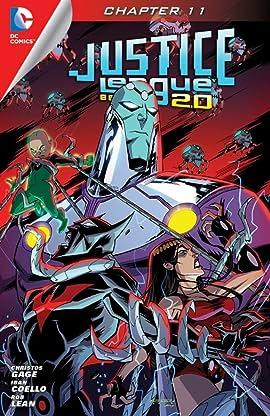 Justice League Beyond 2.0 (2013-2014) #11