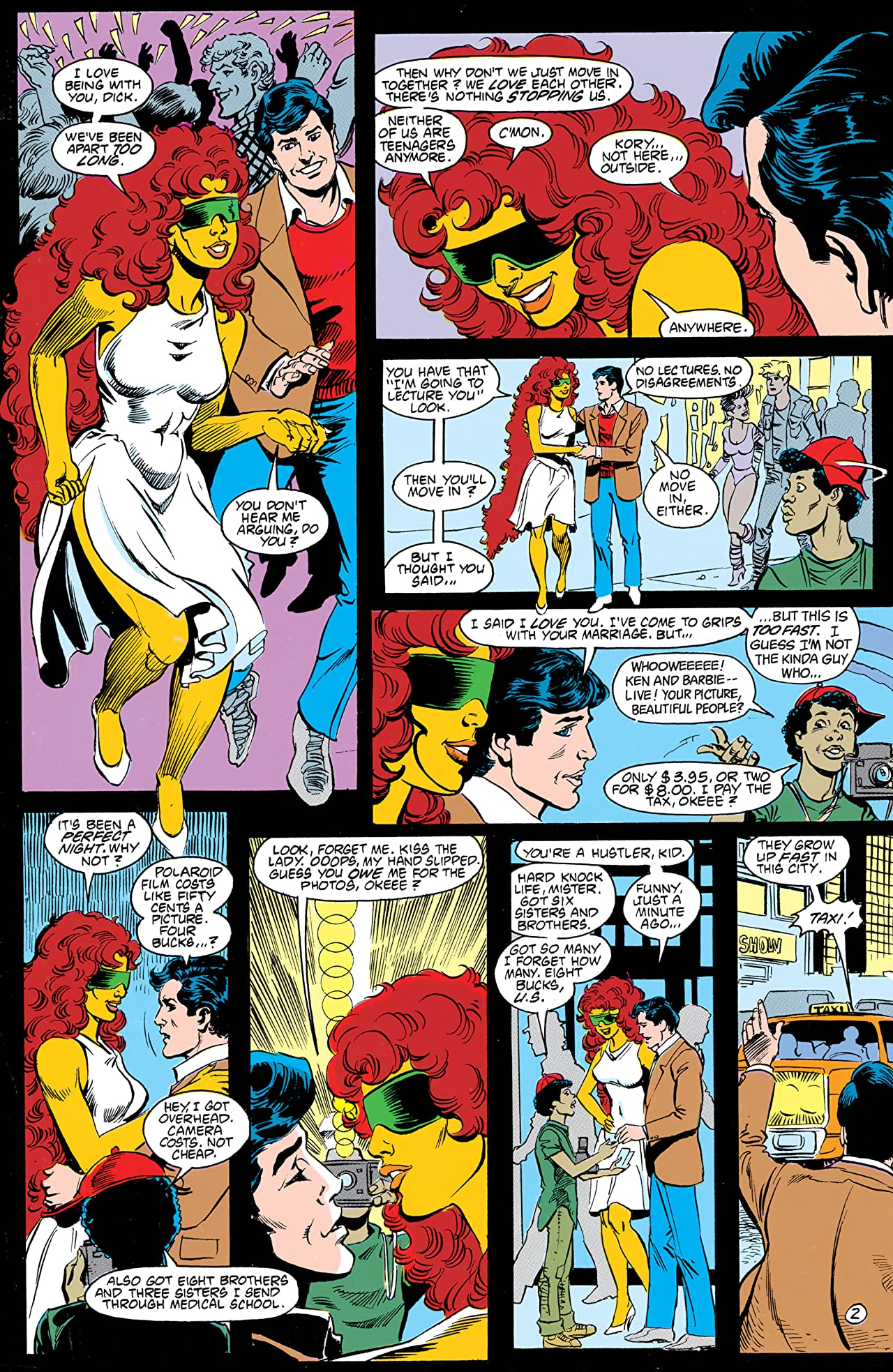 The New Teen Titans (1984-1996) #35