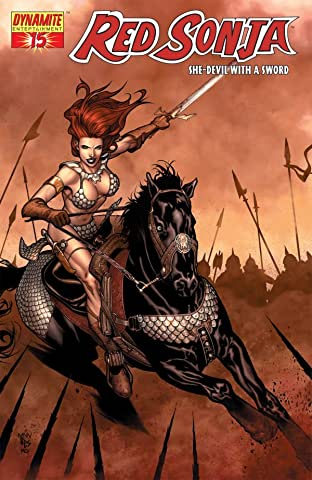 Red Sonja: She-Devil With a Sword No.15