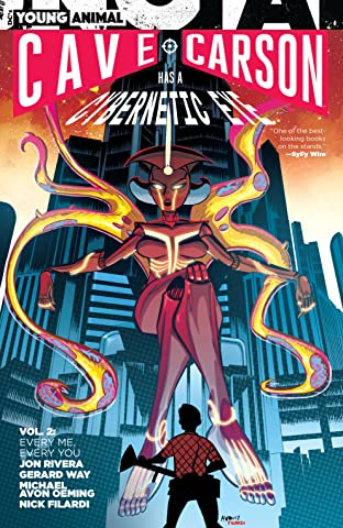 Cave Carson Has a Cybernetic Eye (2016-) Vol. 2: Every Me, Every You