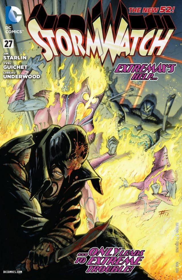 Stormwatch (2011-2014) #27