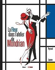 La fleur dans l'atelier de Mondrian