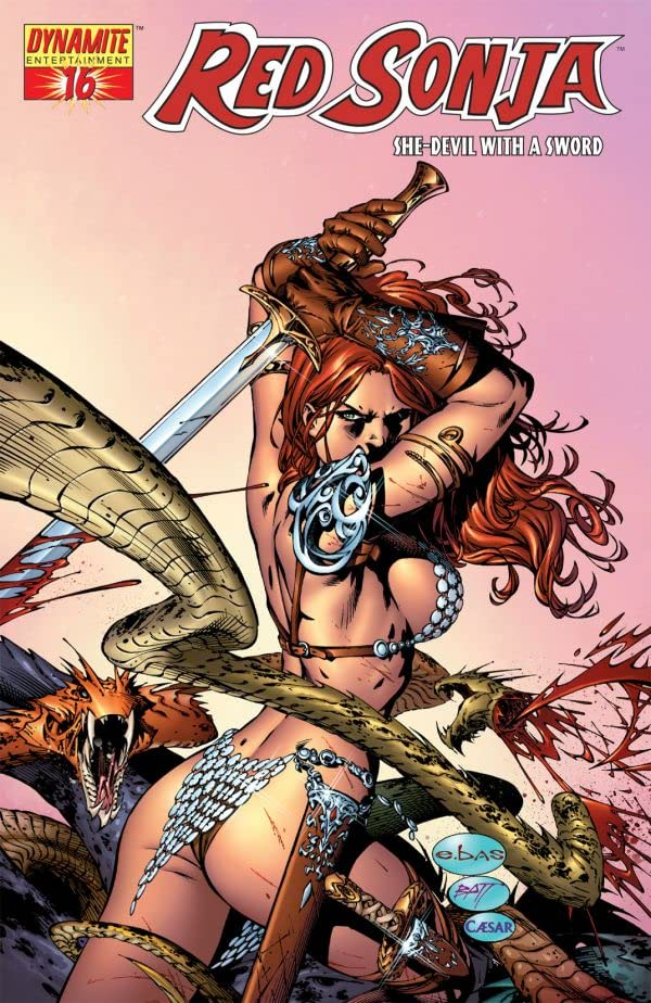 Red Sonja: She-Devil With a Sword #16