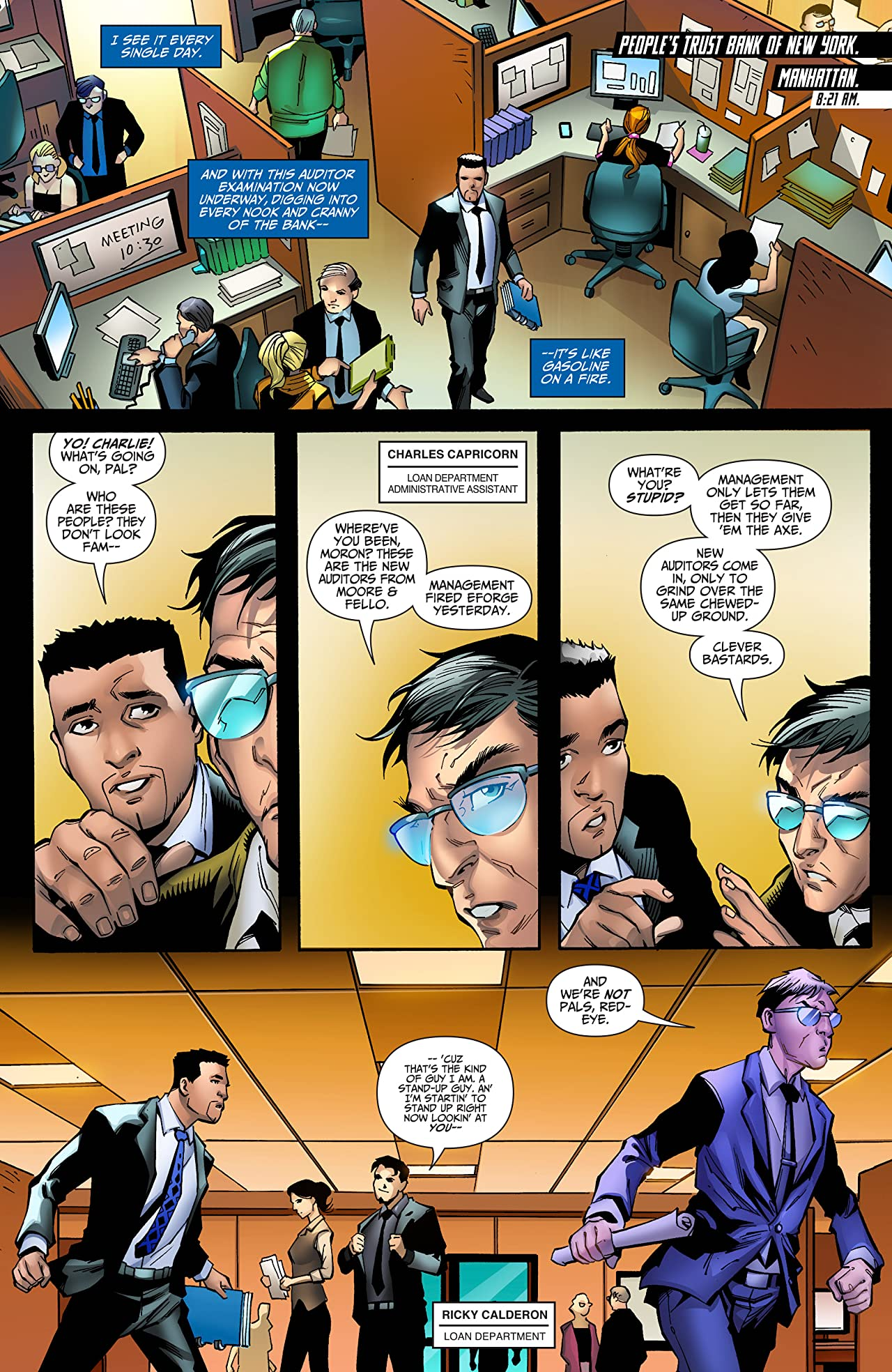 I.T. - The Secret World of Modern Banking Vol. 2 #4