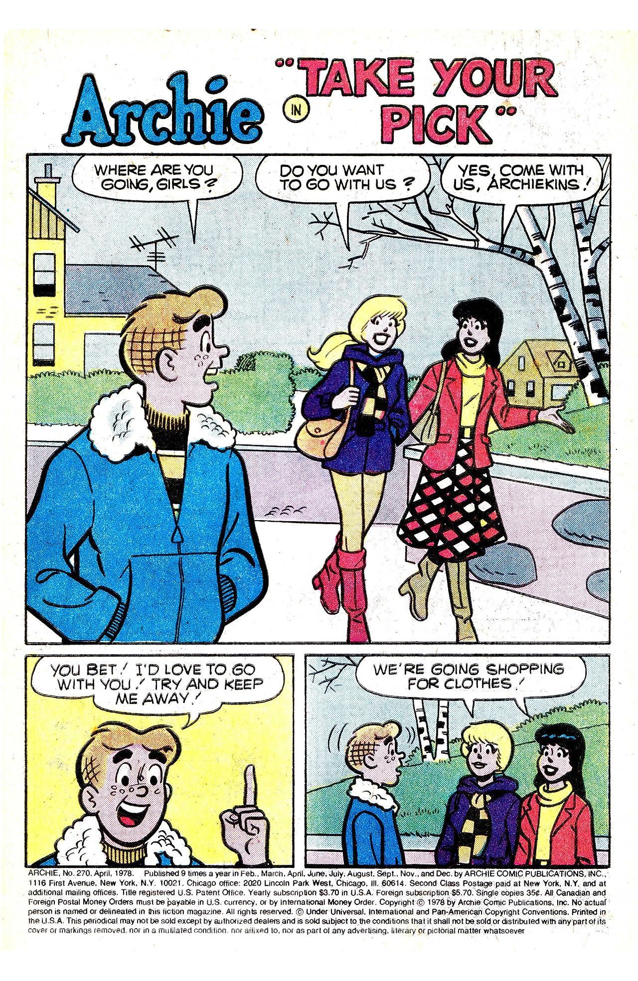 Archie #270