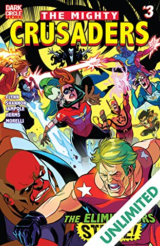 The Mighty Crusaders (2017-) #3