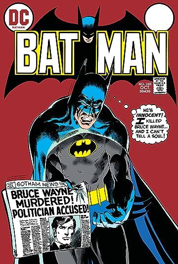 Batman (1940-2011) #245