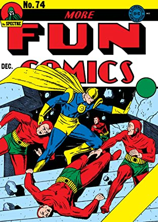More Fun Comics (1936-1947) #74-75