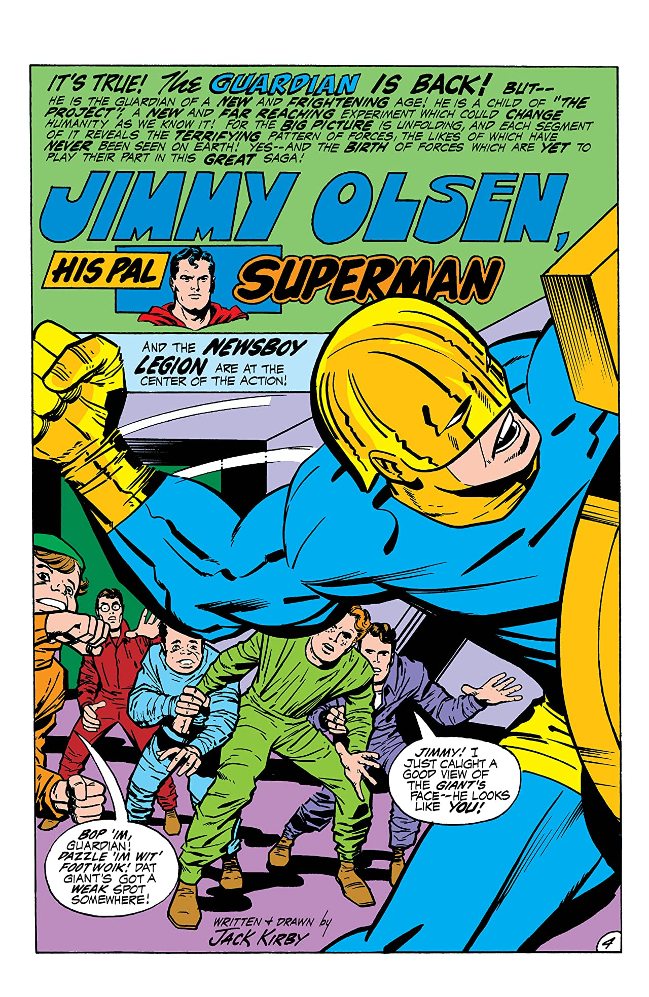 Superman's Pal, Jimmy Olsen (1954-1974) #136