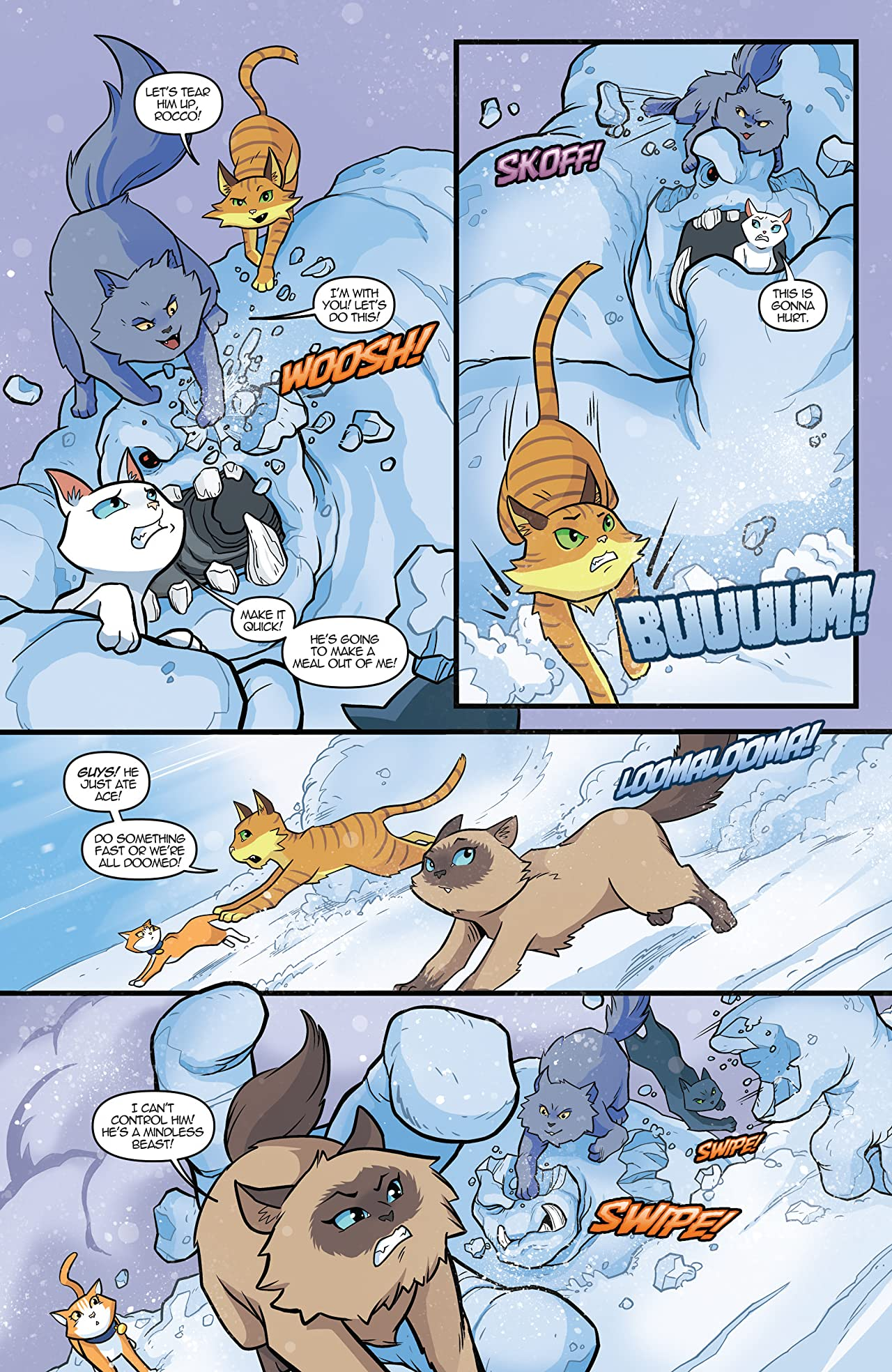 Hero Cats of Stellar City Vol. 7: Season Finale