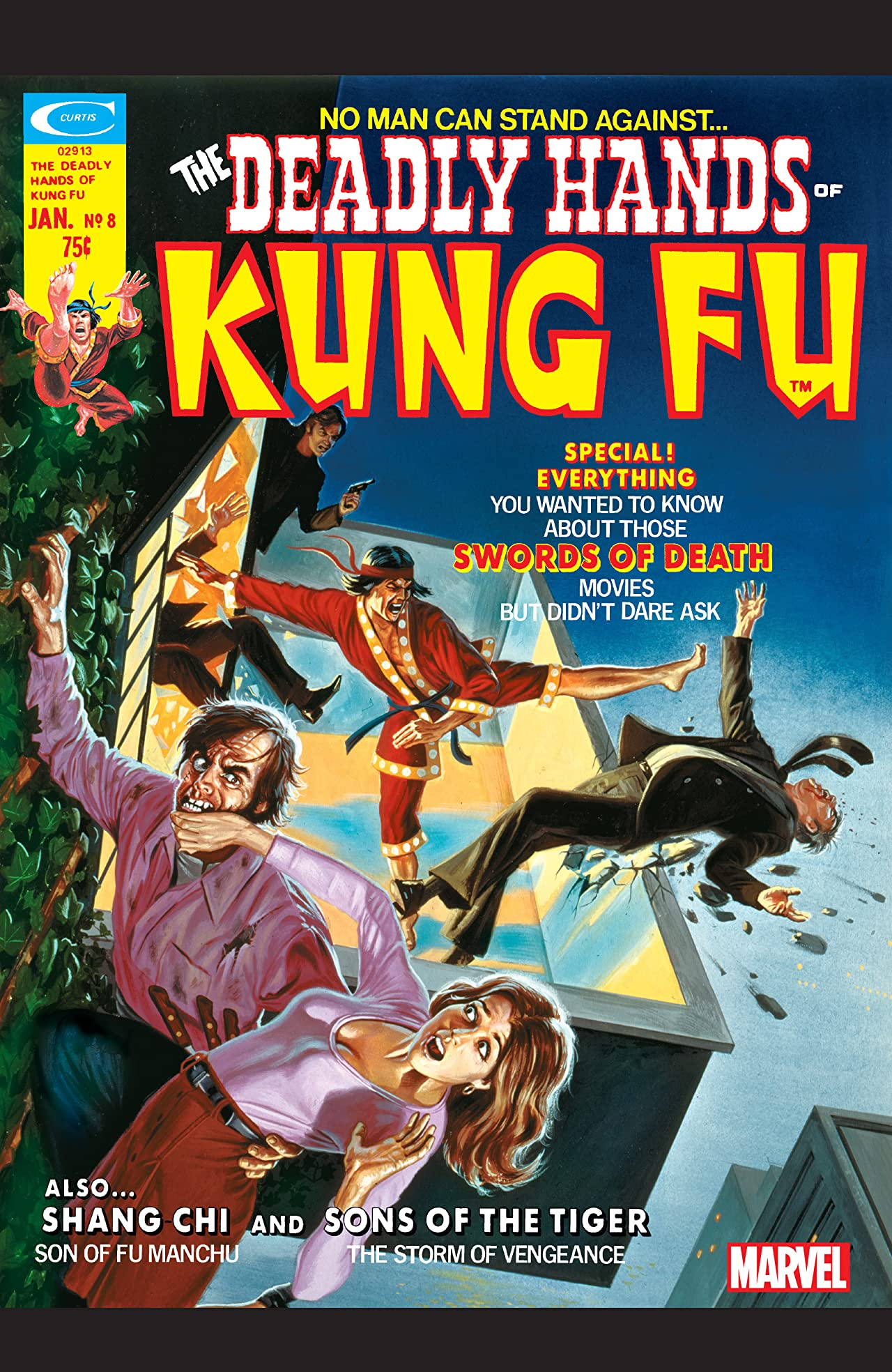 Deadly Hands of Kung Fu (1974-1977) #8