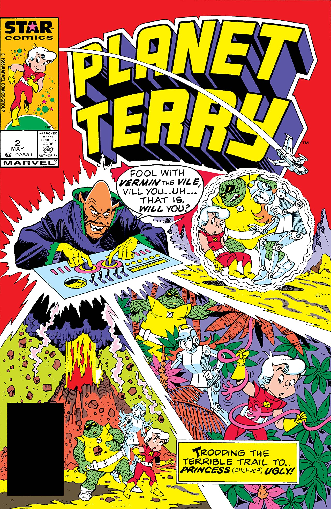 Planet Terry (1985-1986) #2