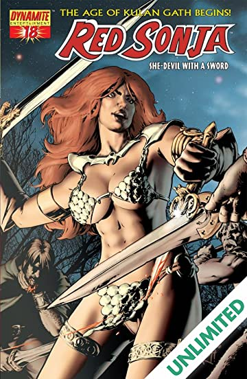Red Sonja: She-Devil With a Sword #18