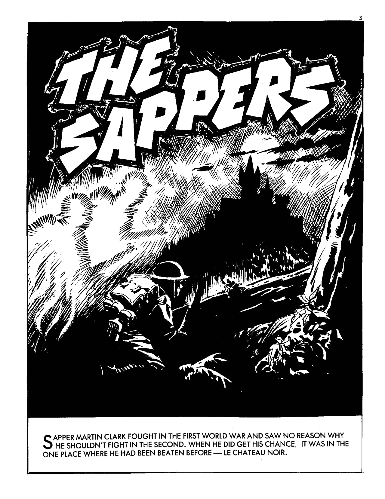 Commando #5098: The Sappers