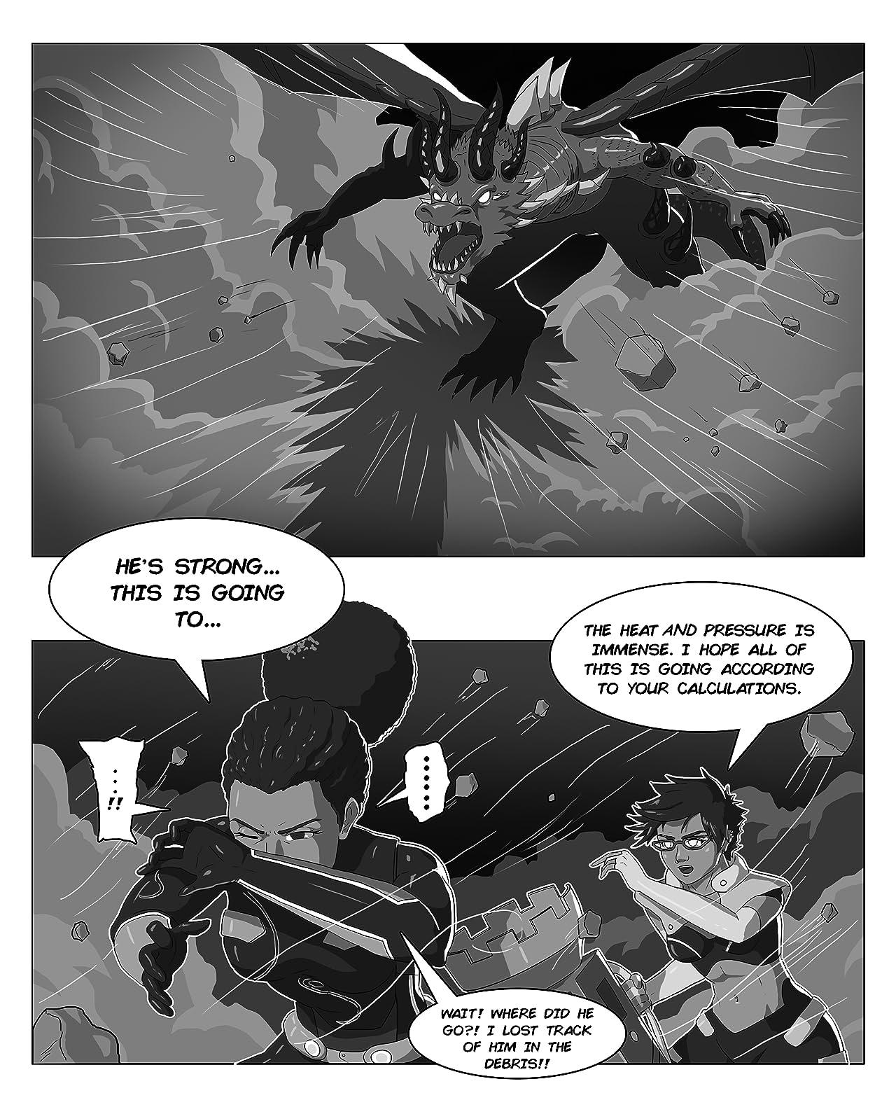 Evian Rising Vol. 2: The Dragon's Fang of War