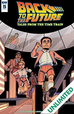 Back to the Future: Tales from the Time Train #5 (of 6)