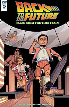 Back to the Future: Tales from the Time Train No.5 (sur 6)