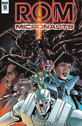 ROM & The Micronauts #5