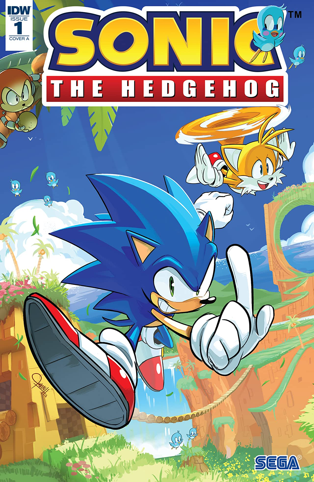 Sonic The Hedgehog (2018-) No.1