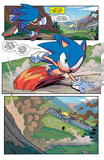 Sonic The Hedgehog 2018 1 Comics By Comixology