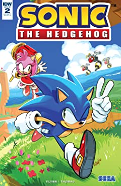 Sonic The Hedgehog (2018-) #2