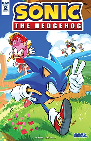 Sonic The Hedgehog (2018-) No.2