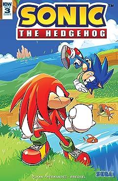 Sonic The Hedgehog (2018-) #3