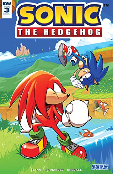 Sonic The Hedgehog (2018-) No.3