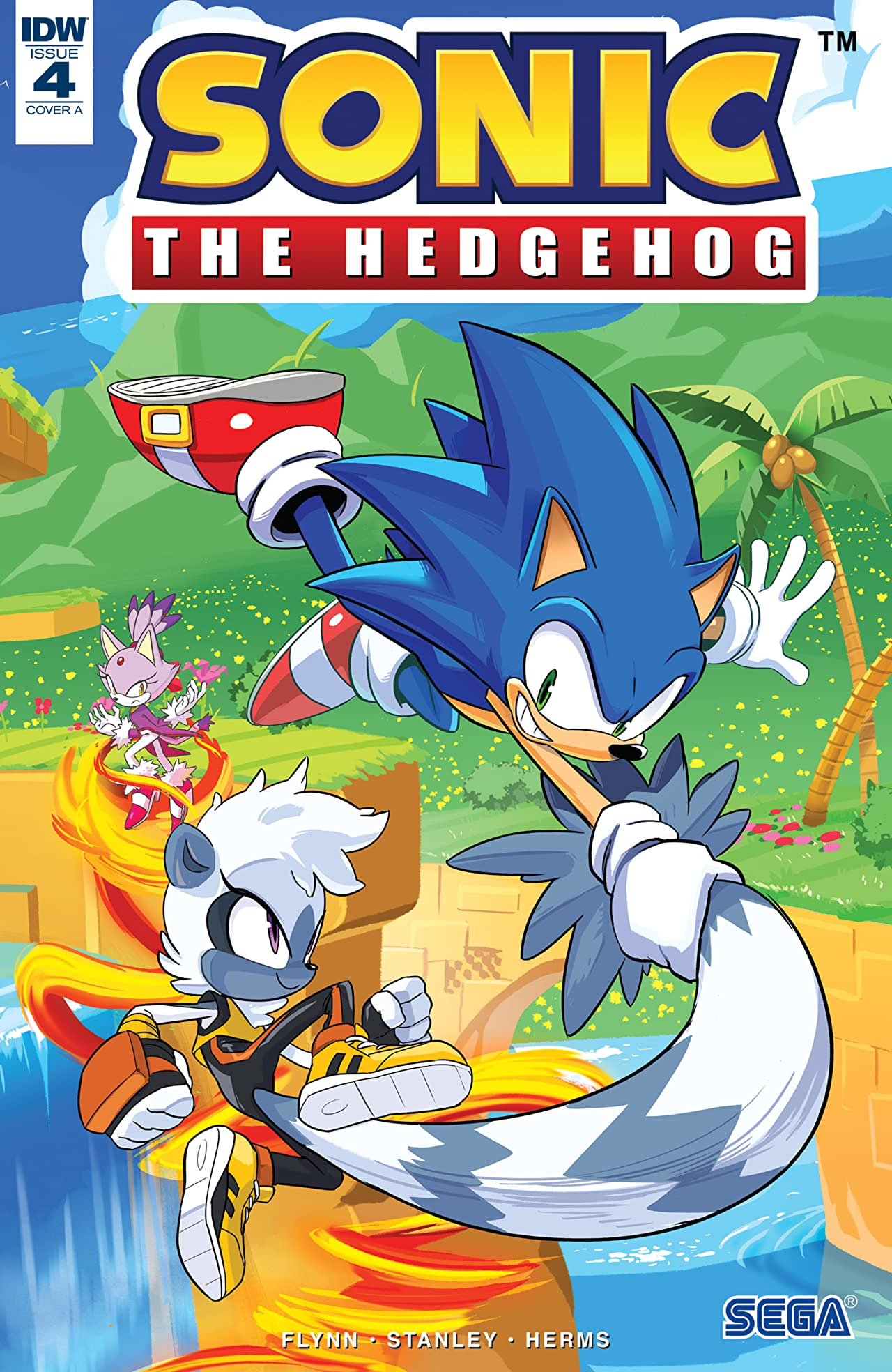 Sonic The Hedgehog (2018-) #4