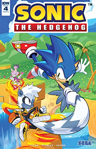 Sonic The Hedgehog (2018-) No.4