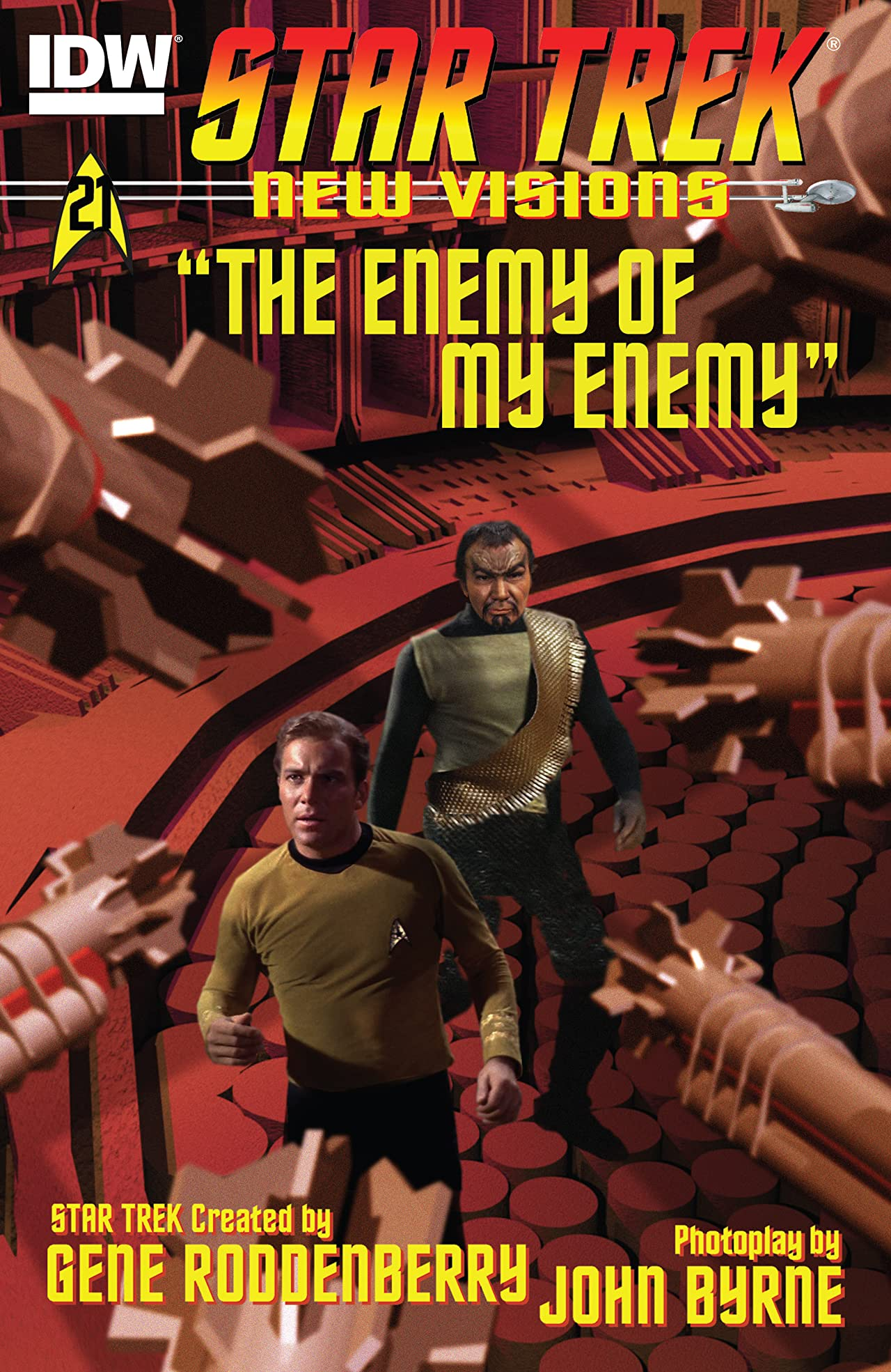 Star Trek: New Visions #21: The Enemy of My Enemy