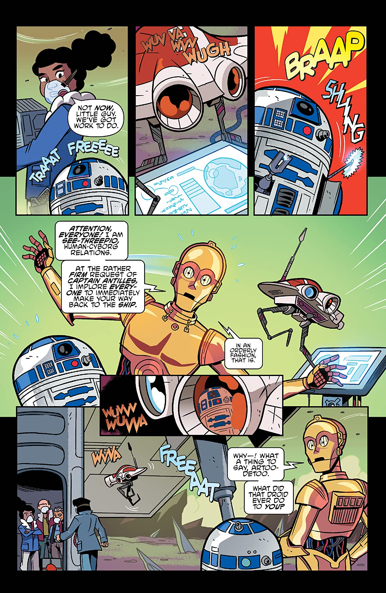Star Wars Adventures #9