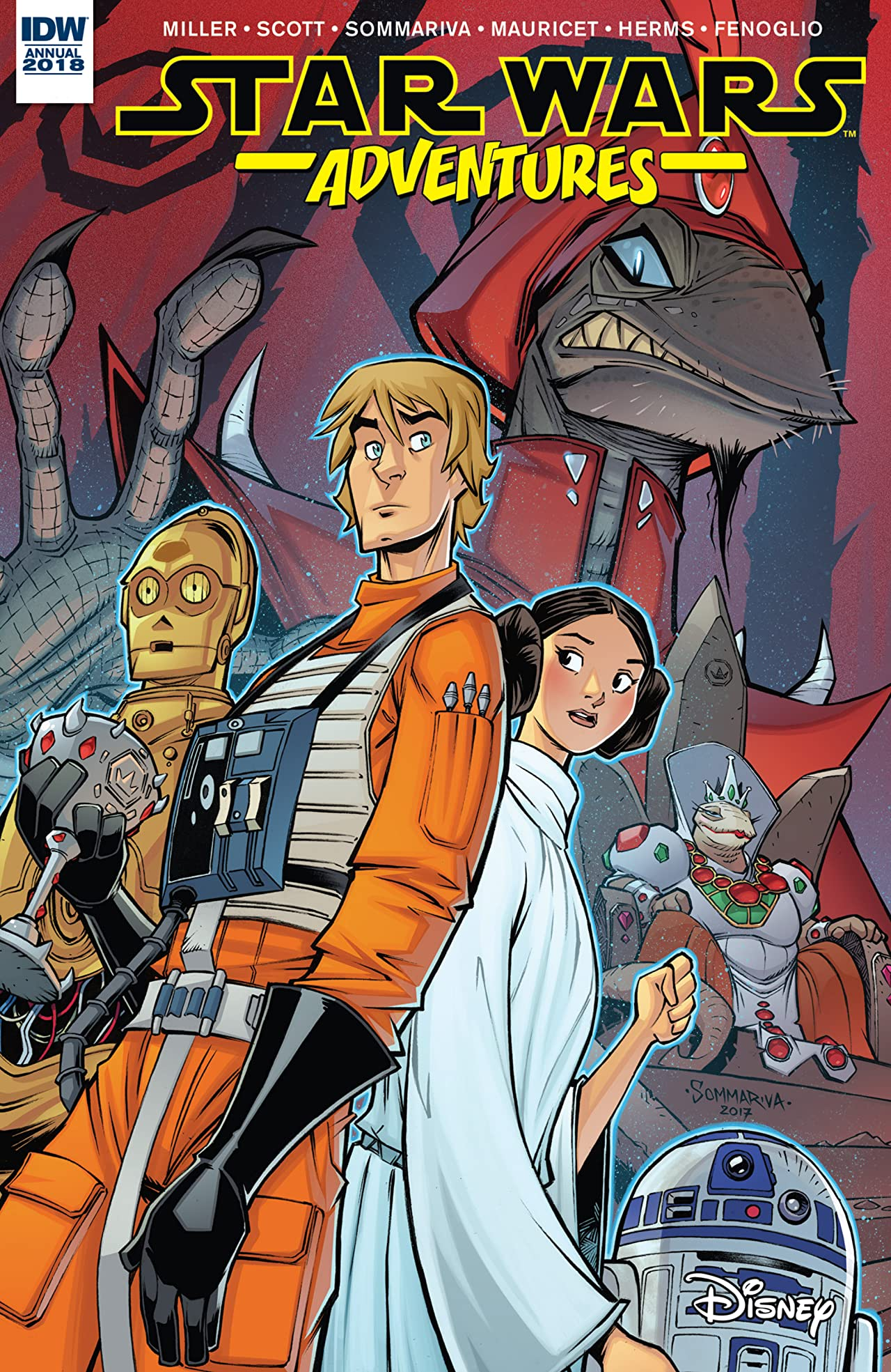 Star Wars Adventures Annual 2018