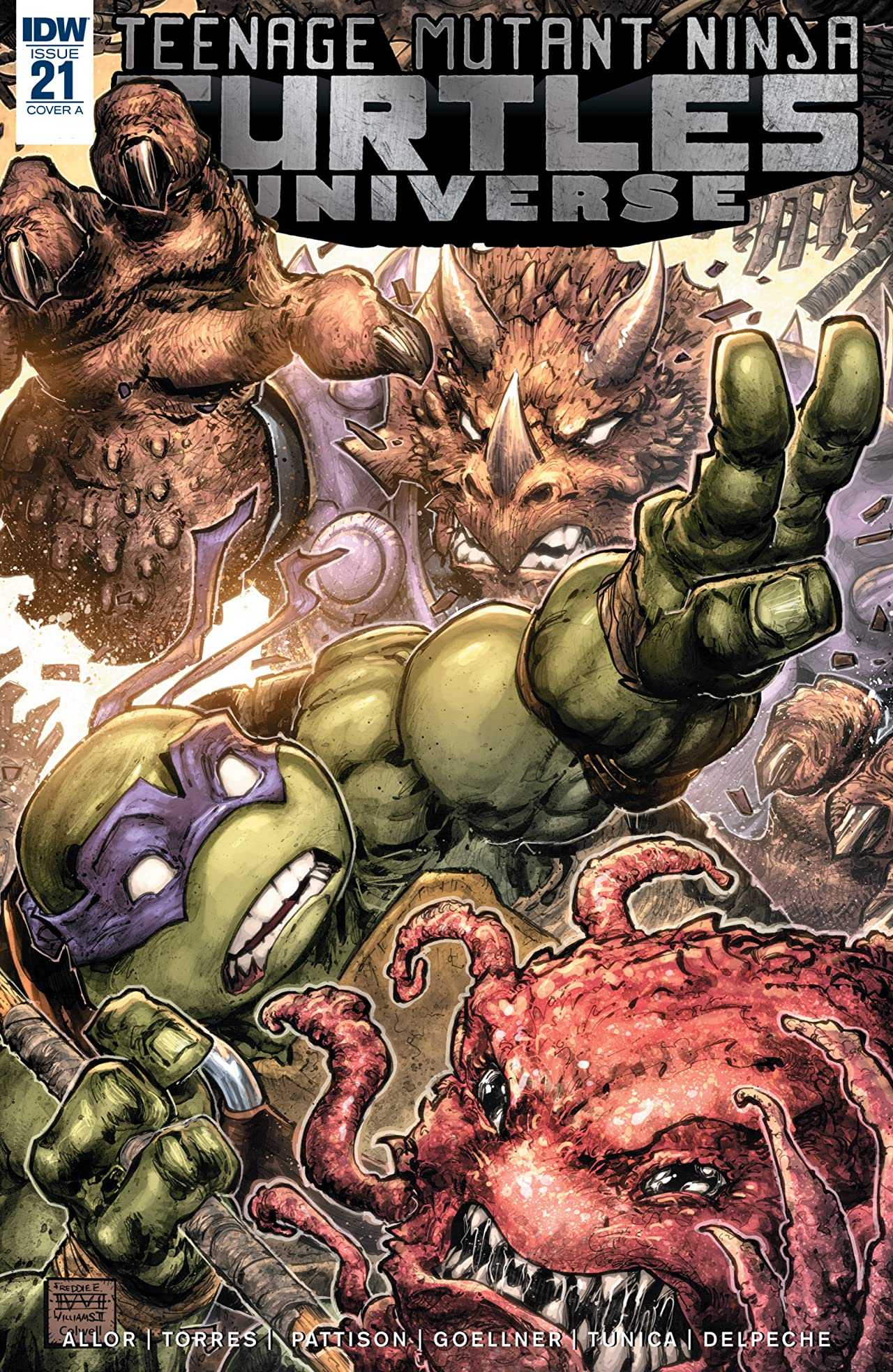 Teenage Mutant Ninja Turtles Universe #21