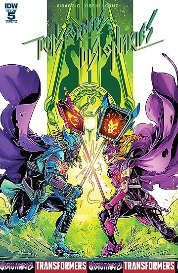 Transformers vs. The Visionaries #5