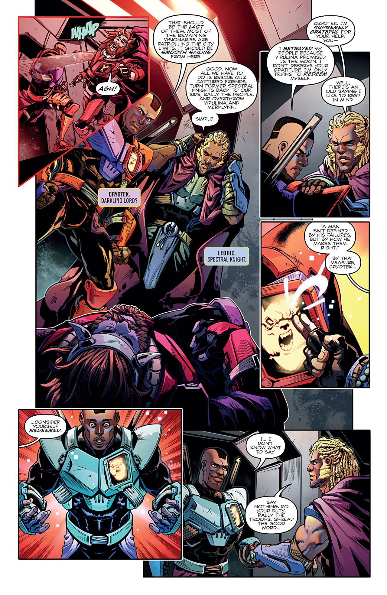 Transformers vs. The Visionaries #5