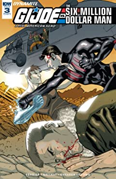 G.I. Joe: A Real American Hero vs. the Six Million Dollar Man #3