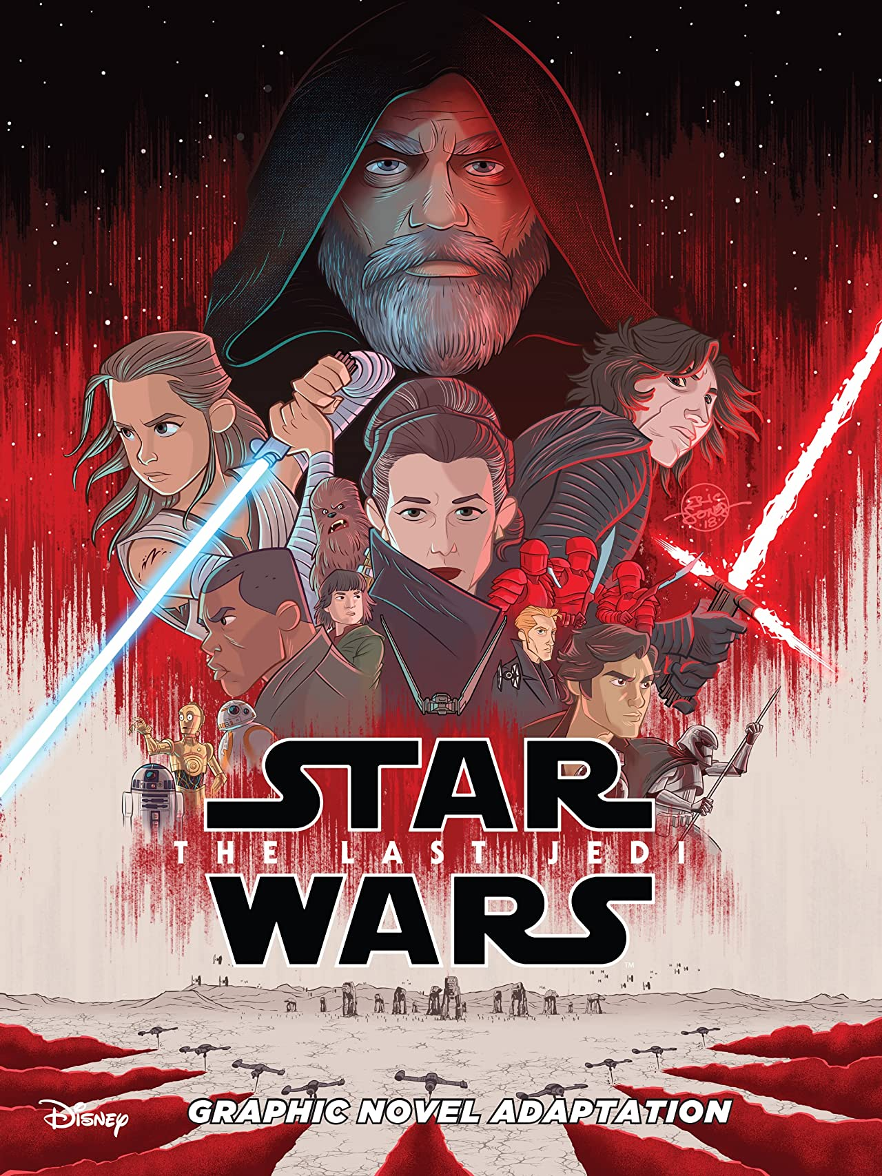 Star Wars: The Last Jedi Graphic Novel Adaptation