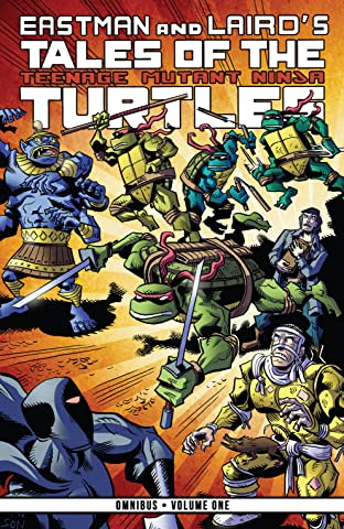 Tales of the Teenage Mutant Ninja Turtles Omnibus Tome 1